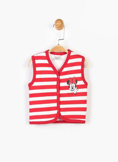 Mickey Mouse Yelek Kırmızı